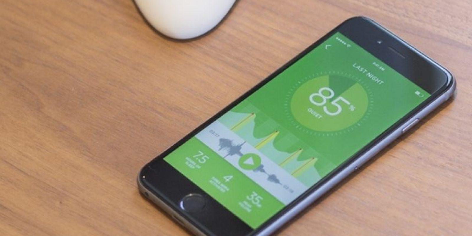 Y funciona en conjunto con una app. Foto: Smart Nora Inc.