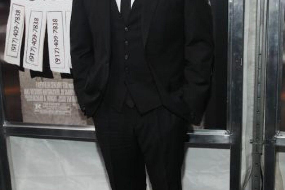 """En 2013, durante las grabaciones de la película """"El Lobo de Wall Street"""", reapareció con algunos kilos de más. Foto:Getty Images"""