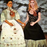 Y Madonna. Foto:vía instagram.com/sainthoax