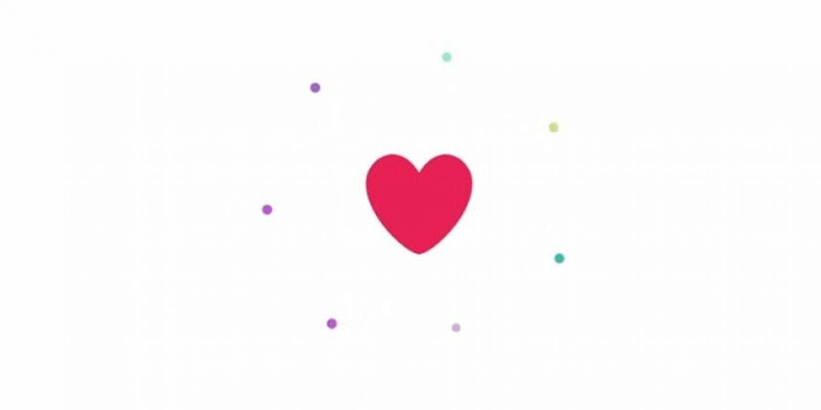 """Los corazones tendrán la misma función que los """"me gusta"""". Foto:Twitter"""