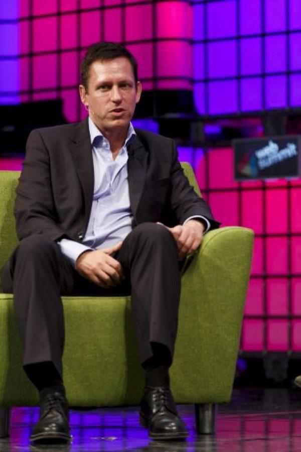 Es cofundador de PayPal y uno de los primeros inversores en Facebook. Foto:Getty Images