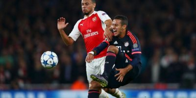 Bayern Múnich contra Arsenal Foto: Getty images