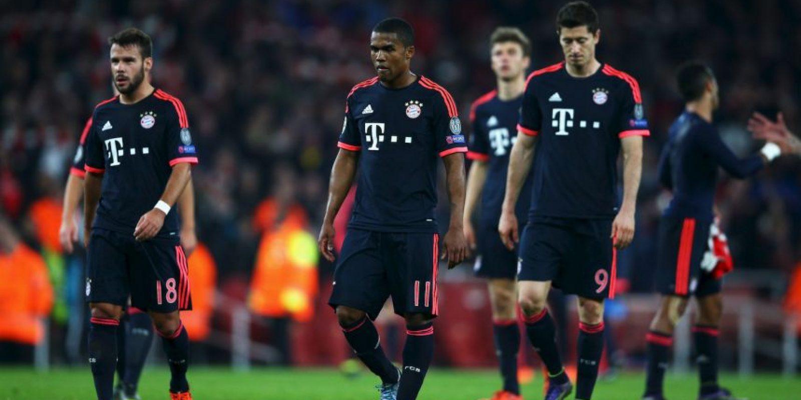 Precisamente superaron al combinado de Múnich en la jornada pasada Foto:Getty Images