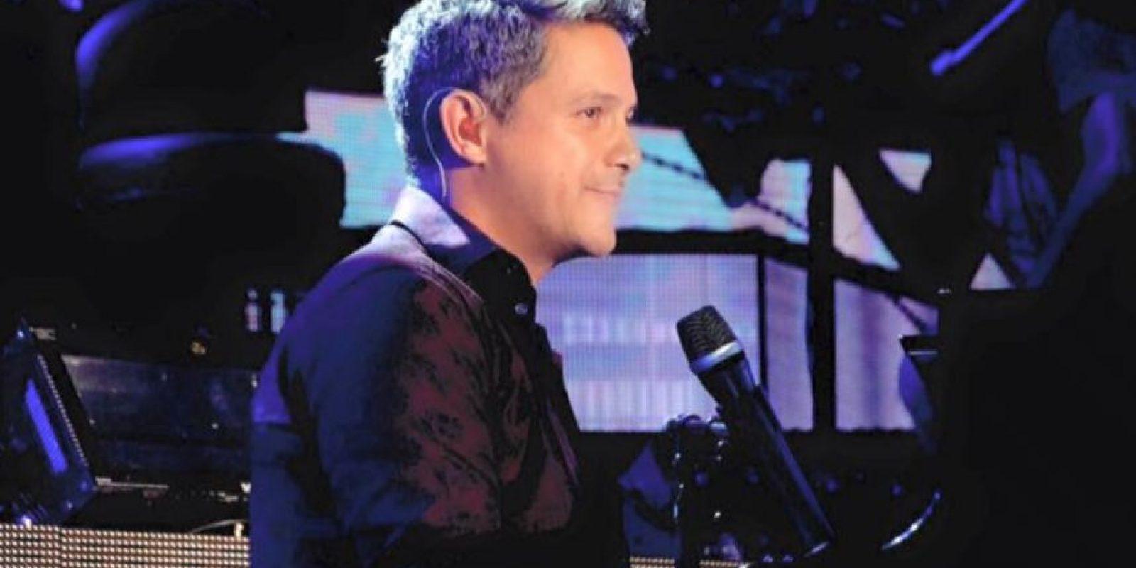 Así se ve el cantautor español. Foto:vía Facebook/Alejandro Sanz