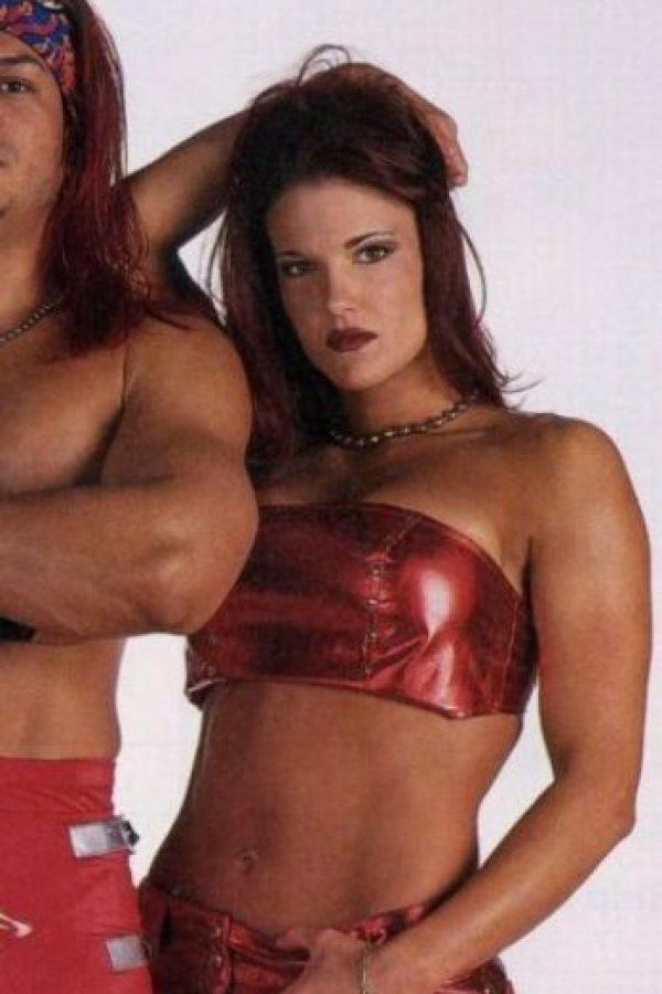 Lita, antes de operarse Foto:WWE