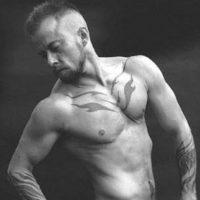 Actualmente es un activista transexual con músculos envidiables. Foto:Vía Tumblr