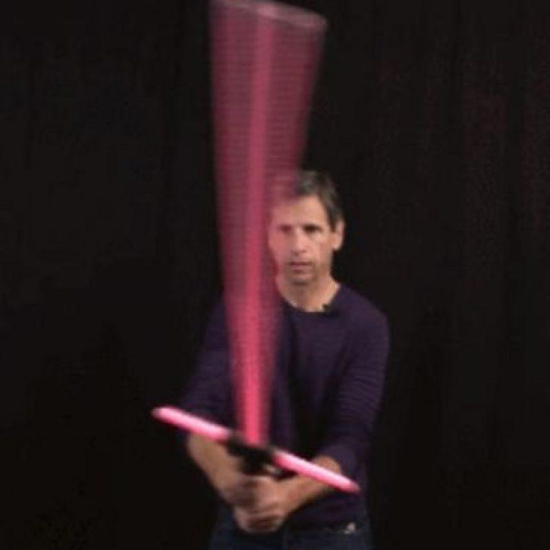 """Sable de luz de """"Kylo Ren"""" edición de lujo Foto:Hasbro"""