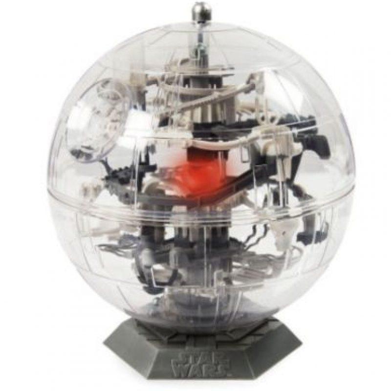 "Laberinto de la ""Estrella de la muerte"" 3D Foto:Spin Master"