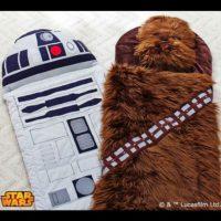 """Bolsas de dormir de """"R2-D2"""" y """"Chewie"""" Foto:Pottery Barn"""