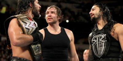 """Formó parte del """"Escudo"""", junto a Dean Ambrose y Roman Reigns Foto:WWE"""
