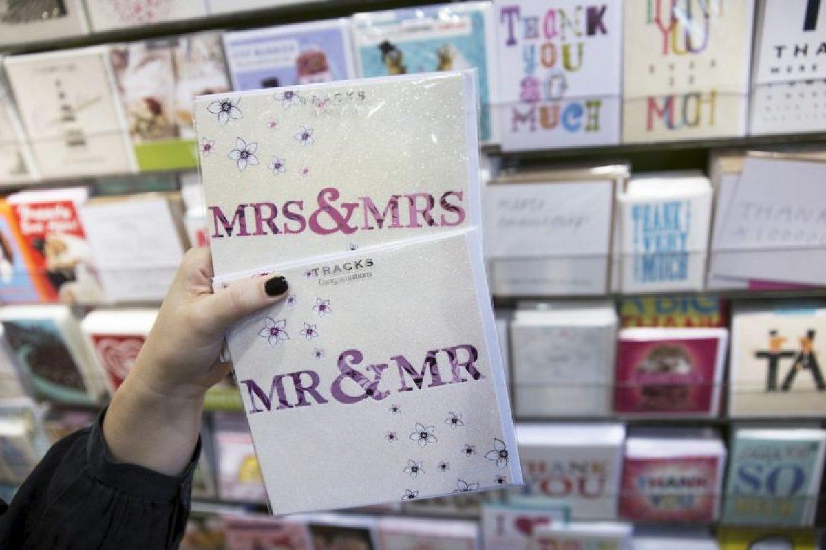 El primer país Latinoamericano en aprobar el matrimonio entre personas del mismo sexo fue Argentina en 2010. Foto:Getty Images