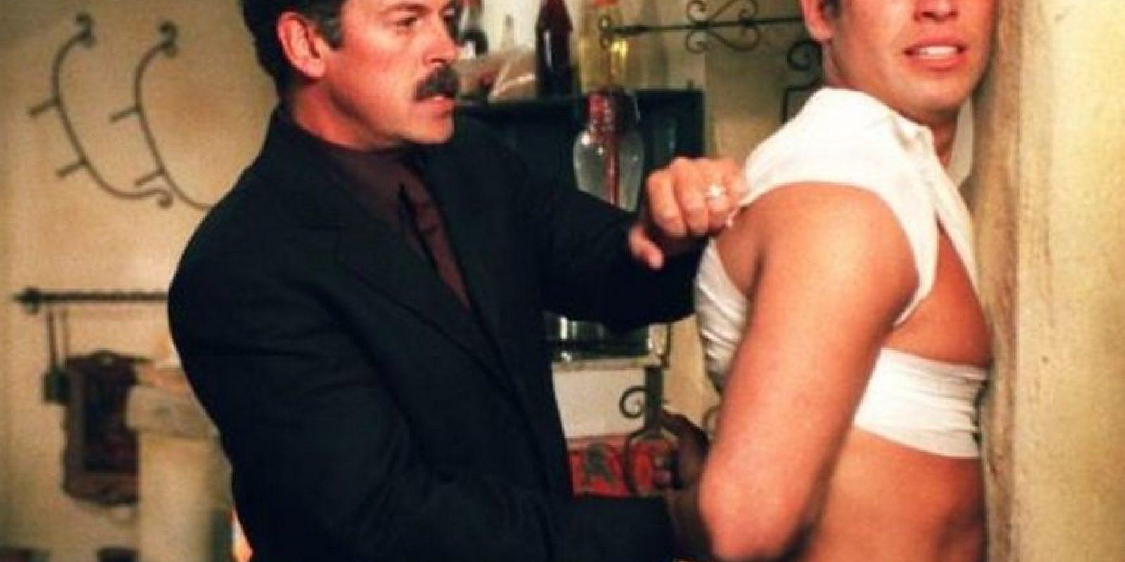 """En 2001 protagonizó la telenovela mexicana """"Sin pecado concebido"""" Foto:Televisa"""