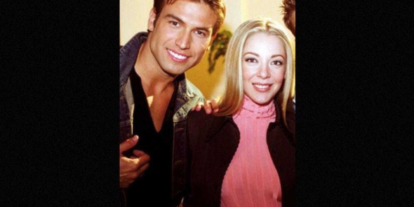 """En el 2002 trabajó junto a la actriz, Edith González en """"Salomé"""" Foto:Tumbrl"""