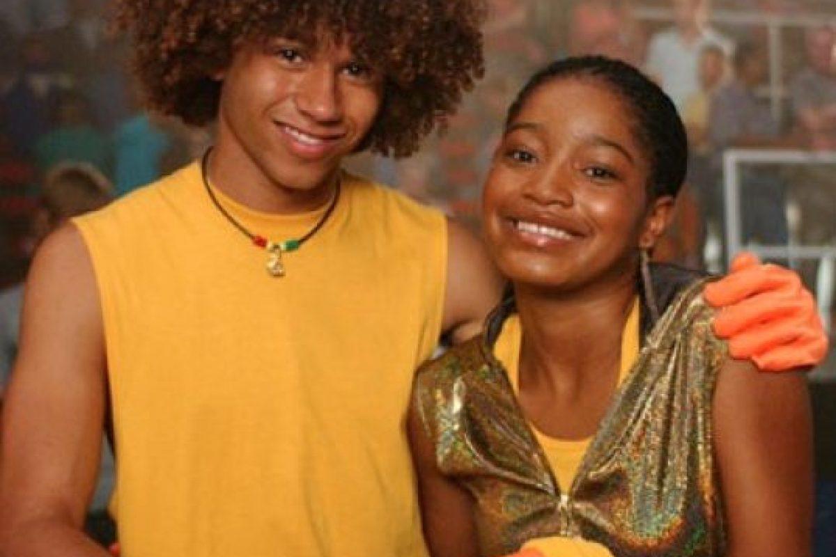 """Palmer se besó por primera vez con Corbin Bleue cuando solo tenía 12 años en la cinta de Disney """"Jump in!"""" Foto:Disney"""