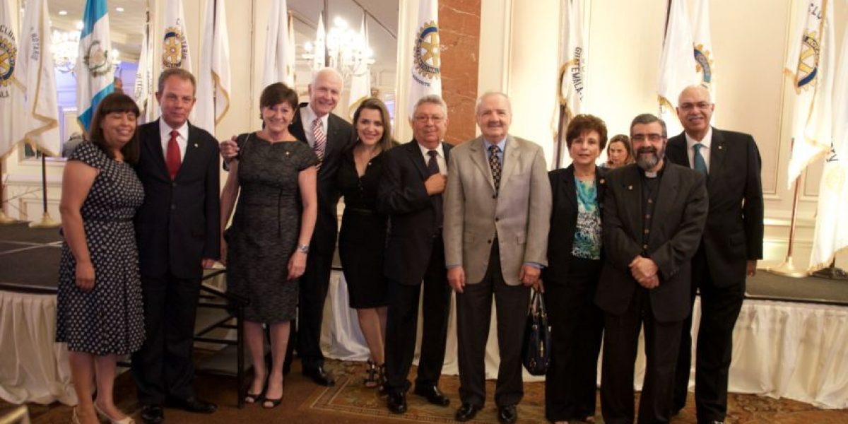 Celebran 90 años de rotarismo en Guatemala