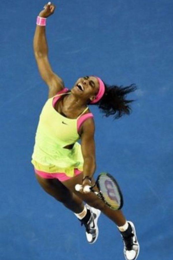 Su mejor tiro en el tenis es el revés a dos manos. Foto:instagram.com/serenawilliams