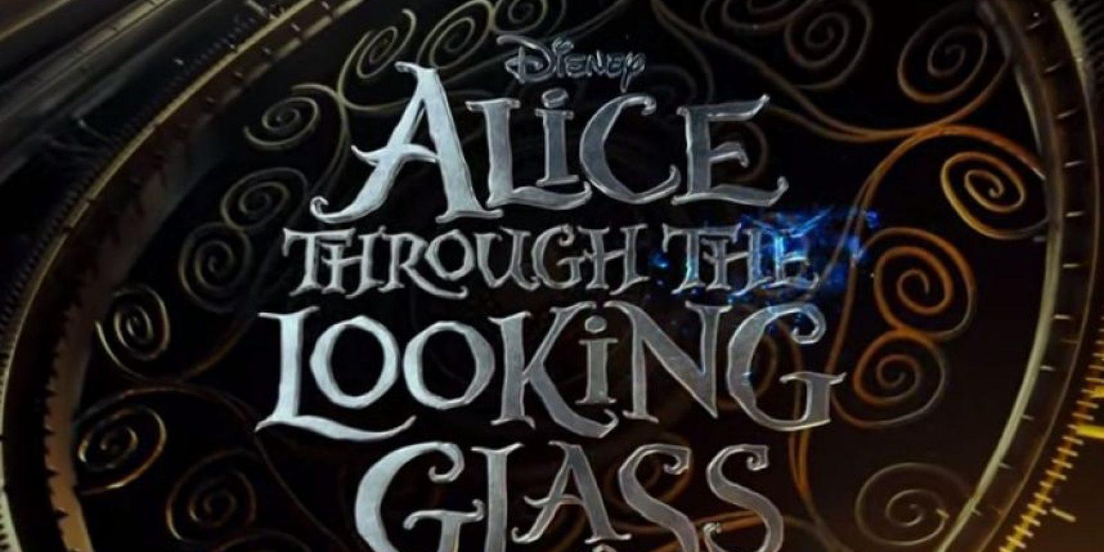 """Walt Disney Studios ha lanzado el primer tráiler de la secuela de """"Alicia en el País de las Maravillas"""". Foto:Disney"""