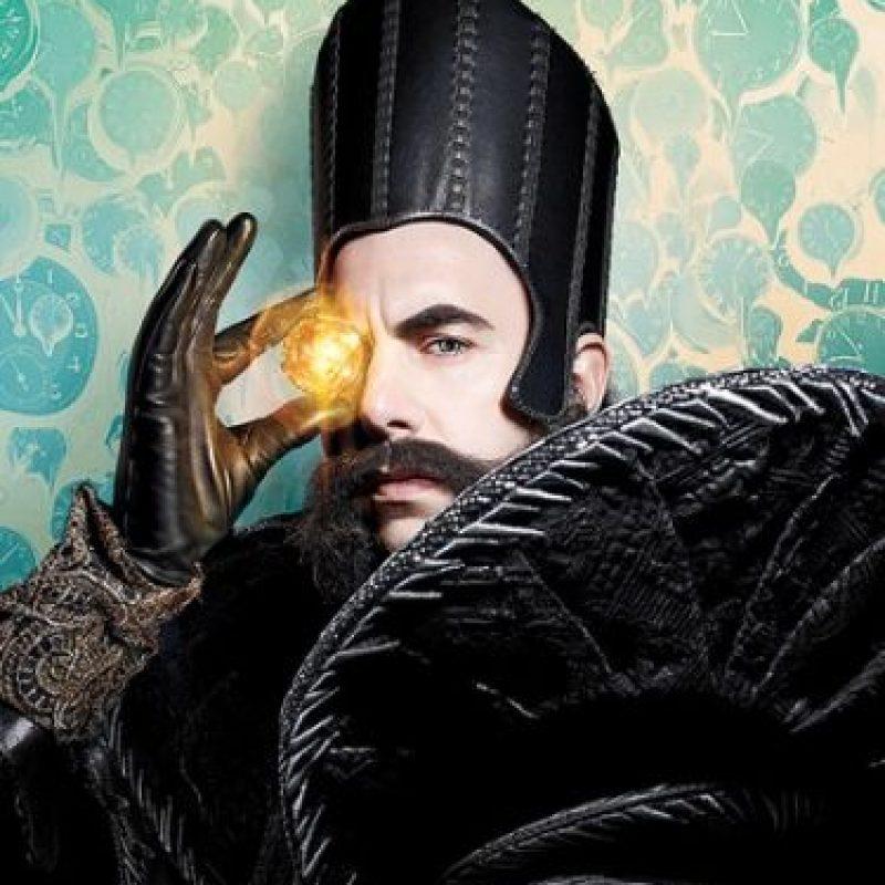 """Sacha Baron Cohen interpreta a """"Tiempo"""", el nuevo personaje de la cinta. Foto:""""Entertainment Weekly"""""""
