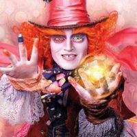 """Johnny Depp como """"El Sombrerero Loco"""" Foto:""""Entertainment Weekly"""""""
