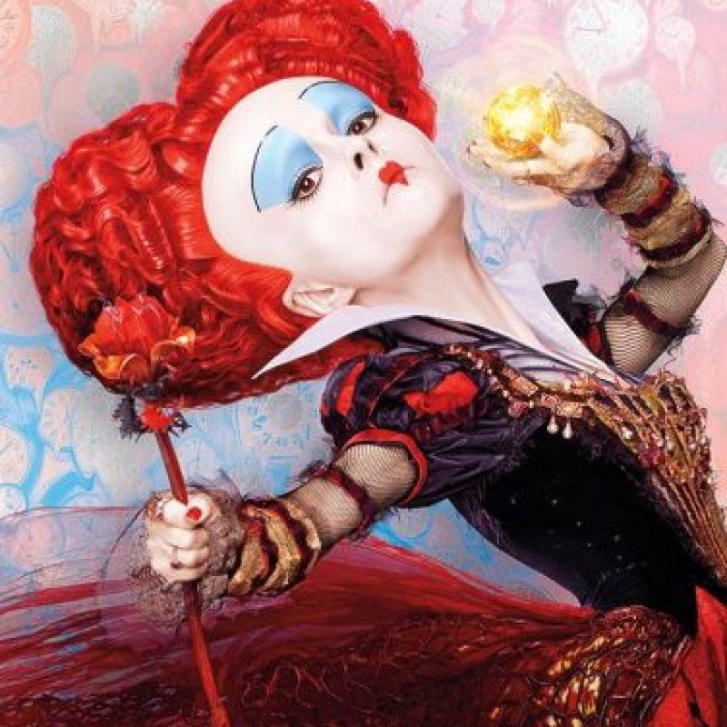 """Helena Bonhan es """"La Reina de Corazones"""" Foto:""""Entertainment Weekly"""""""