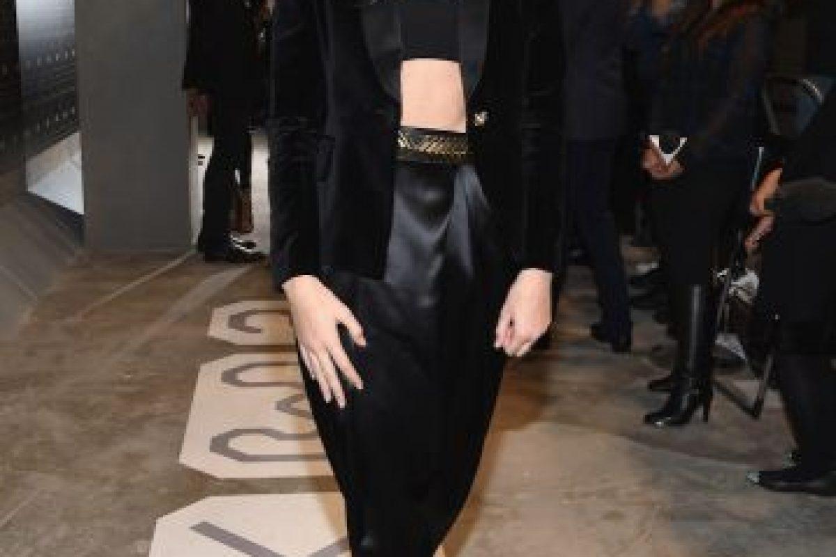 Diseños Balmain que modela Kendall Jenner Foto:Getty Images