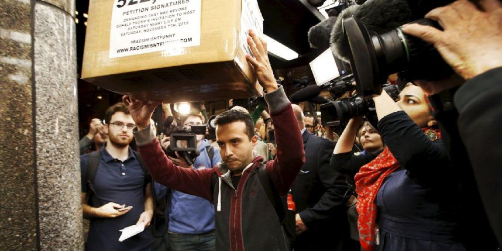 Este hecho fue ampliamente aplaudido por organizaciones de hispanos en Estados Unidos Foto:AP