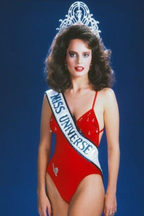 Cecilia Bolocco ganó Miss Universo en 1987 Foto:vía Getty Images