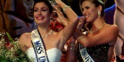 Dayanara Torres ganó Miss Universo en 1993. Foto:vía Getty Images