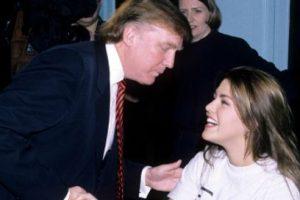 Luego siguió el escándalo. El primero comenzó cuando Trump la humilló ante la prensa internacional para que hiciera ejercicio. Luego vino el escándalo del reality donde tuvo sexo. Foto:vía Getty Images