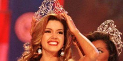 Alicia Machado ganó Miss Universo en 1996. Foto:vía Getty Images