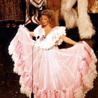 Irene Sáez, venezolana, ganó Miss Universo en 1981. Foto:vía Getty Images