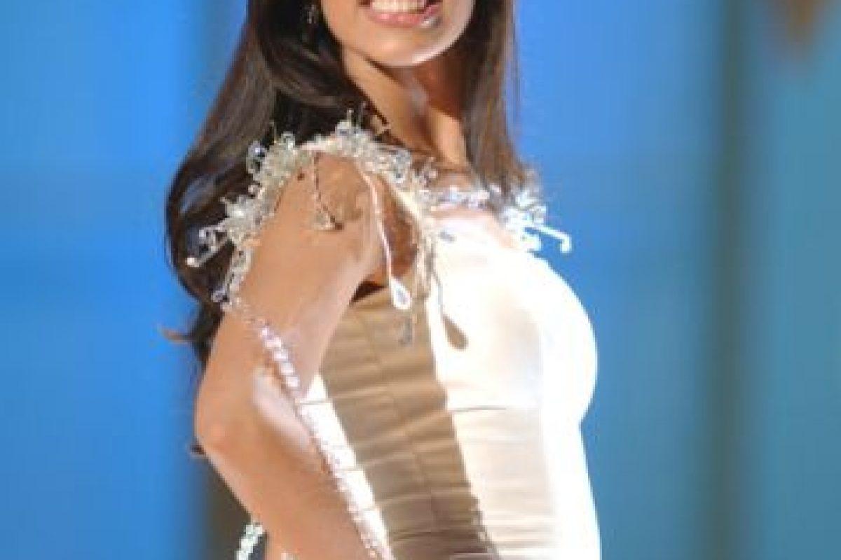 Amelia Vega, de República Dominicana, ganó Miss Universo en 2003. Foto:vía Getty Images