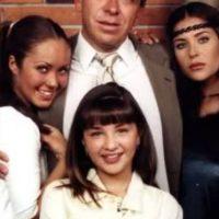 """Daniela Luján era """"Sabrina Luna Guerra"""", la hermana menor de """"Giovanna"""". Foto:vía Televisa"""