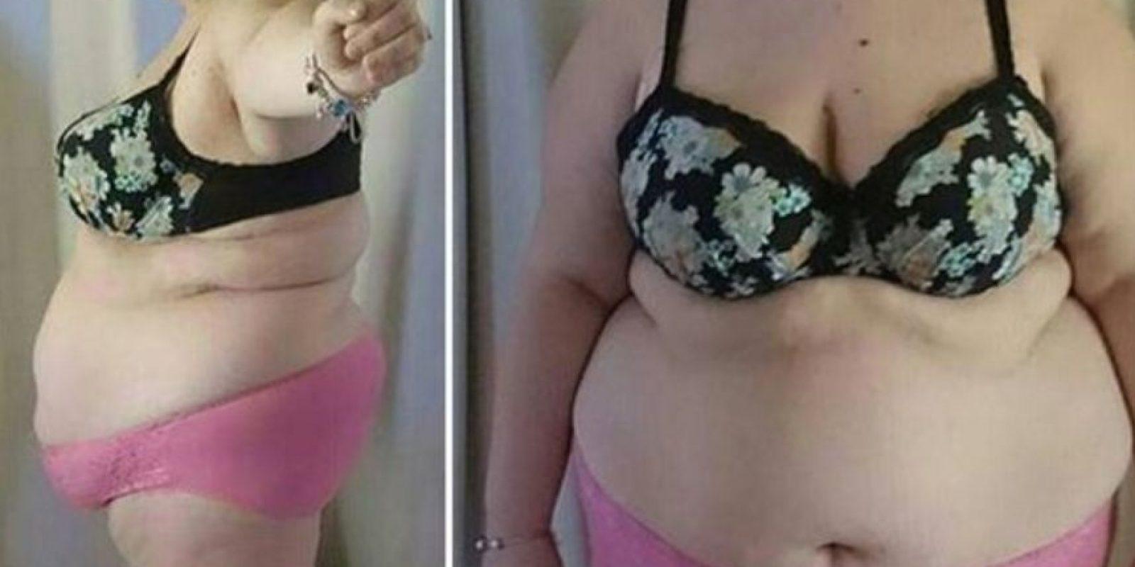 Shantell Bennet compartió una foto donde quería que vieran que estaba perdiendo peso. Pero recibió comentarios desagradables en Internet. Foto:vía Facebook