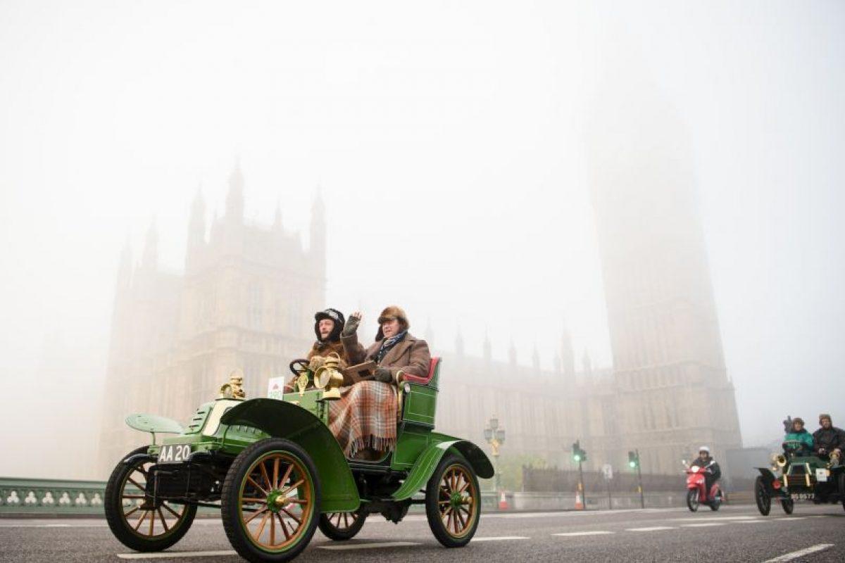 Autos antiguos en Inglaterra. Foto:AFP
