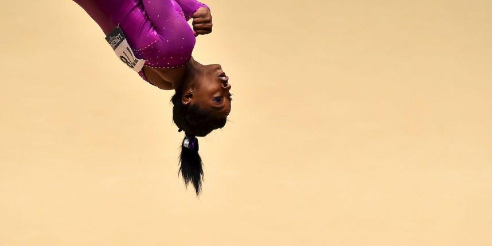Campeonato Mundial de Gimnasia 2015 en Glasgow, Escocia. Foto:AFP