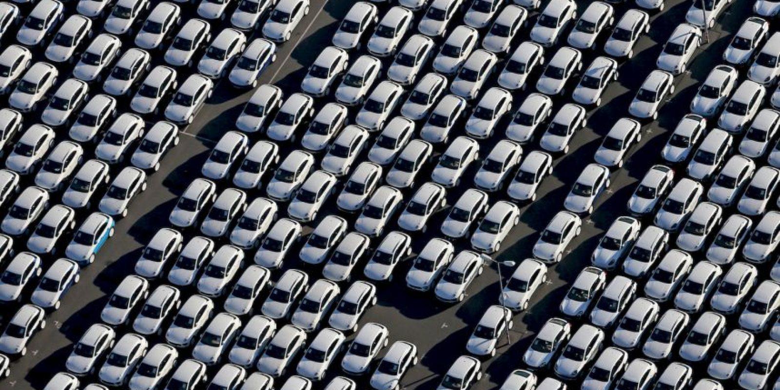 Autos Porsche en fábrica en Alemania. Foto:AFP