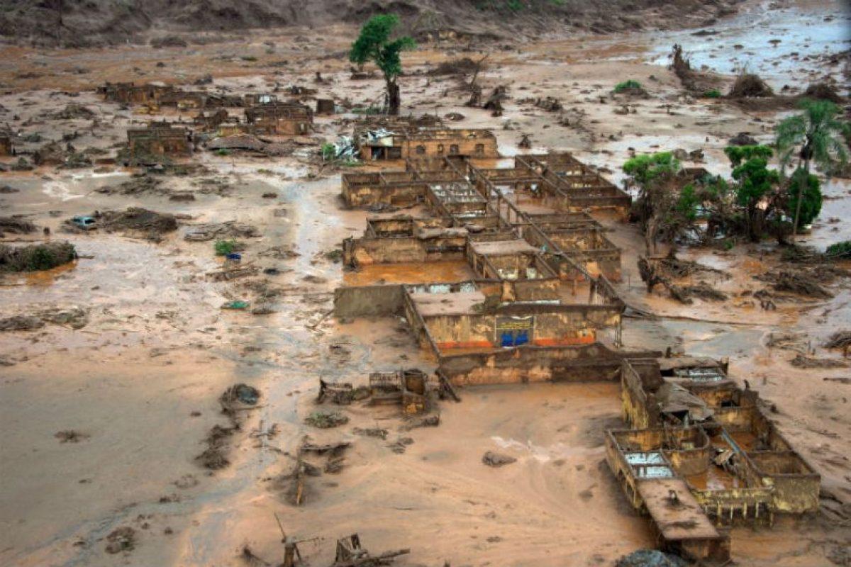 Se ha ido desalojando a los sobrevivientes. Foto:AFP