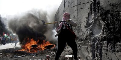 Conflicto entre israelíes y palestinos. Foto:AFP