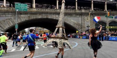 Maratón de Nueva York. Foto:AFP