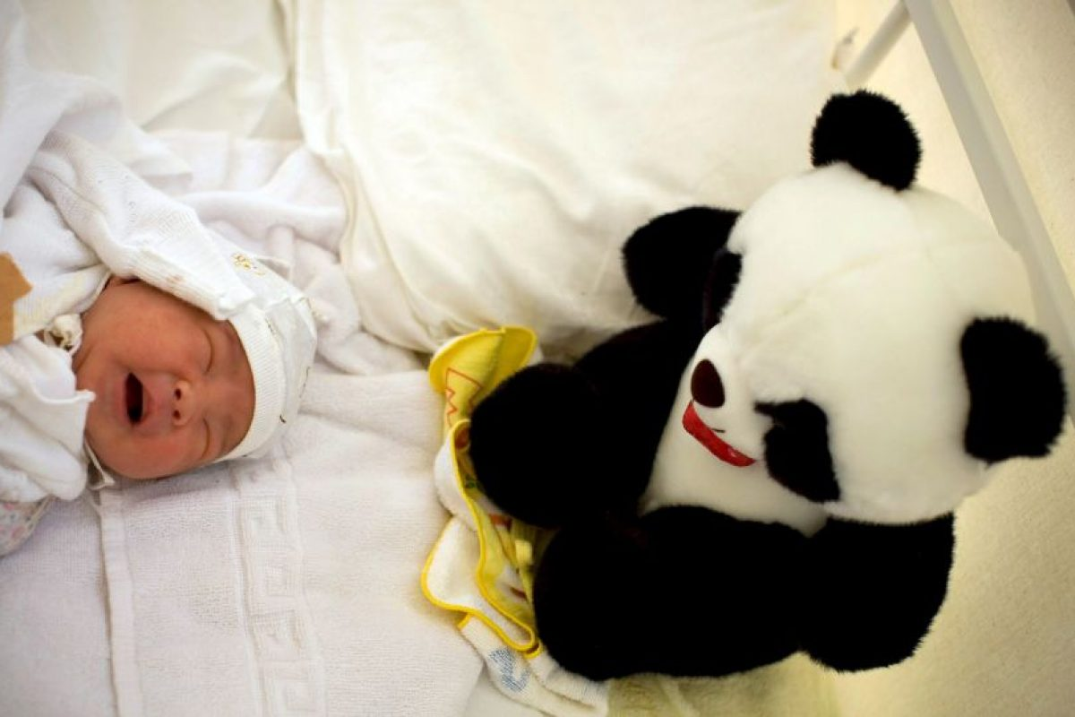 Ella y su bebé vivían en la casa de sus padres. Foto:Getty Images