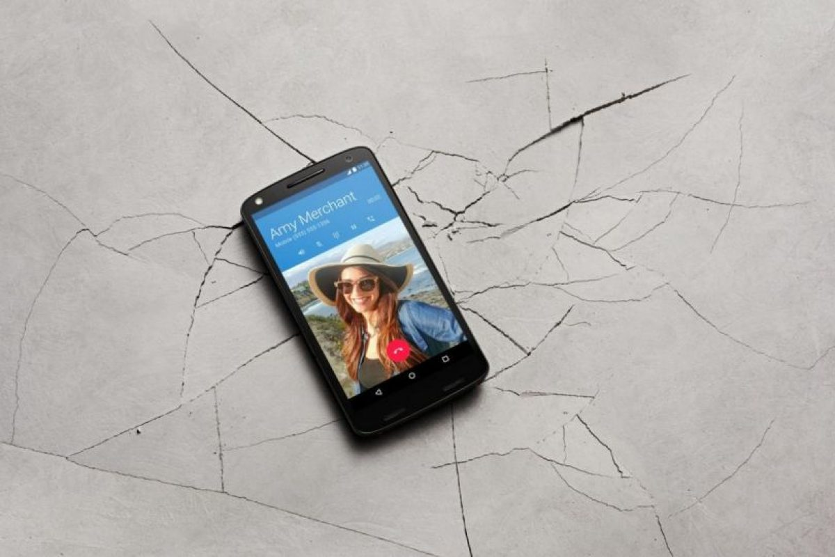 Pantalla Quad HD de 5.4 pulgadas (2560 * 1440), 540 ppi y tecnología Moto ShatterShield. Foto:Motorola
