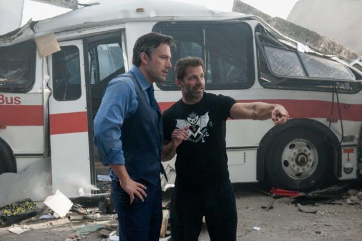 """Luego de terminar con sus compromisos con el personaje de """"Batman"""", Affleck perdió su figura marcada. Foto:vía twitter.com/batmanvsuperman"""