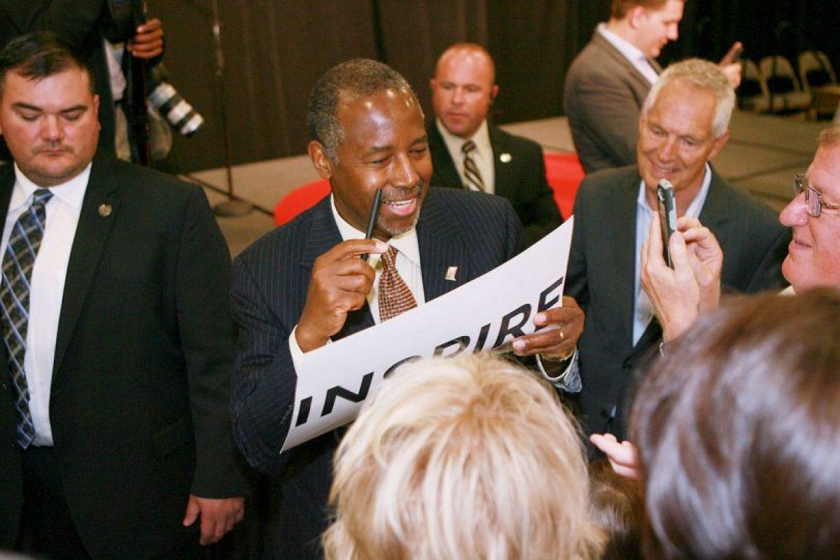 Forma parte de los precandidatos del Partido Republicano estadounidense. Foto:Getty Images