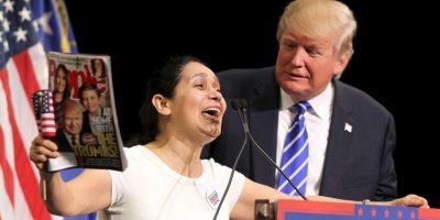 Protestas: Donald Trump causa polémica por conducción de programa de TV Además, denunciaron que en 40 años de historia, SNL solo ha tenido a dos actores hispanos. Foto:Getty Images