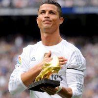 """""""Soy feliz cuando gano trofeos en conjunto"""". Foto:Getty Images"""