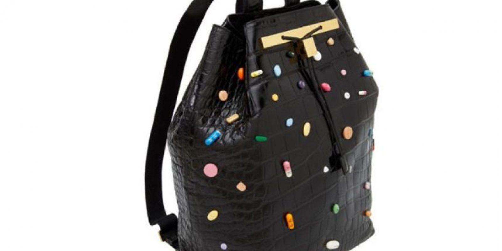 Este bolso, colaboración entre 'The Row' (marca de las gemelas Olsen) y Damien Hirst cuesta 34 mil dólares Foto: The Row