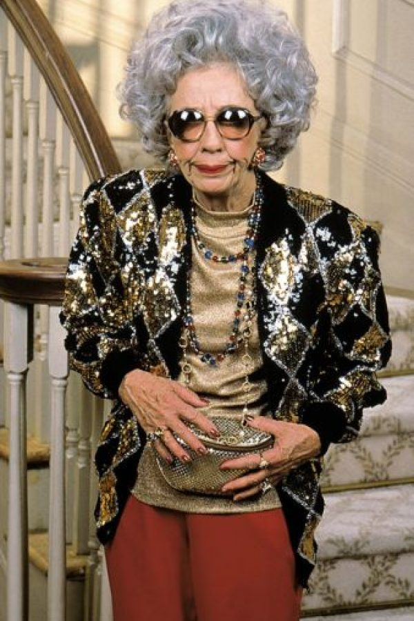 "Ann Morgan Guilbert era la abuela ""Yetta"". Foto:vía TriStar Television"