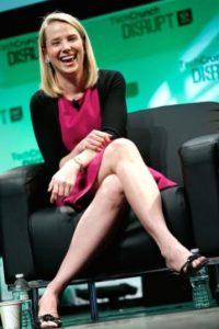 La CEO de Yahoo ocupa el puesto 22 de la lista de Forbes y tiene 40 años Foto:Getty Images