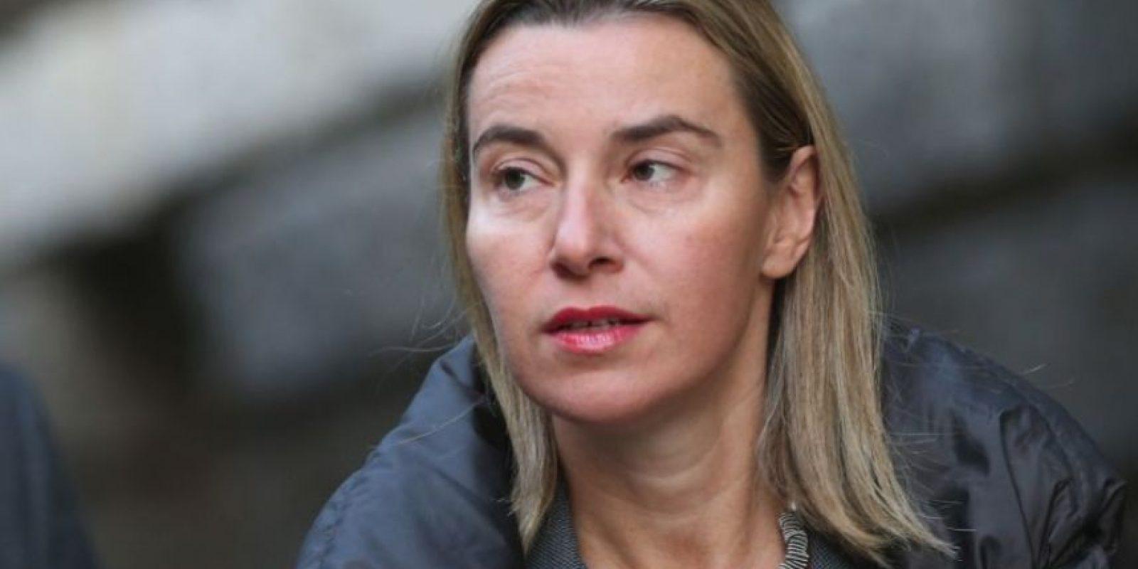 Federica Mogherini- Foto:Getty Images